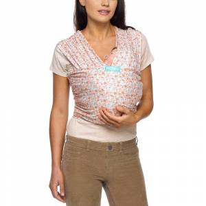 Moby Evolution Wrap Baby Carrier - Fashion Prints - Pink Petals