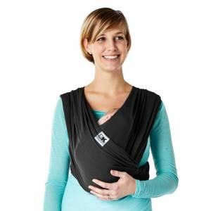 Baby K'tan Breeze Baby Carrier - Black - Large