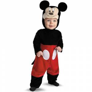 Disney Halloween Disney Baby Mickey Mouse Costume - 6-12 Months, Adult Unisex
