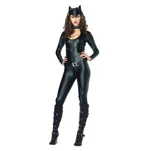 Leg Avenue Halloween Women's Feline Femme Fatale Costume Black Small