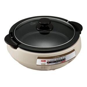 ZOJIRUSHI Gourmet Expert Electric Skillet & Hot Pot #Light Grey EP-PBC10