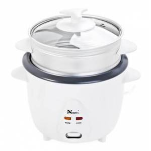 Narita 3 Cups Rice Cooker with Steamer NRC-150 (1 Year Mfg Warranty)