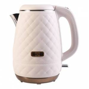 AROMA Double Wall 316 Premium Grade Stainless Steel Electric Water Kettle Pink 1.2L AWK-3000P  - Size: 1