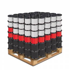 Cerrowire 500 ft. 12 and 14 Black, White and Red Stranded THHN Wire (252 Mix Units per Pallet)