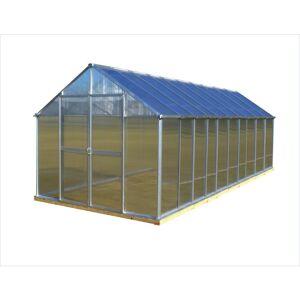 Monticello 8 ft. x 20 ft. Aluminum Premium Greenhouse