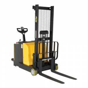 Vestil 2000 lb. Capacity 62 in. H Counter-Balanced Powered Drive Lift with Rider Platform