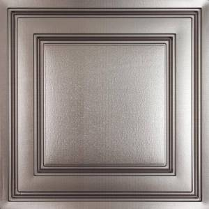 Ceilume Stratford Faux Tin Feather-Light 2 ft. x 2 ft. Lay-In Ceiling Tile (160 sq. ft./case)