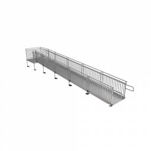 EZ-ACCESS PATHWAY HD 28 ft. Aluminum Code Compliant Modular Access Ramp System