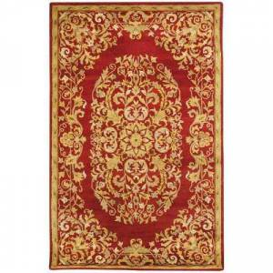Safavieh Heritage Red 8 ft. x 11 ft. Area Rug