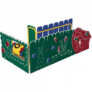 Ultra Play Early Childhood Commercial Big Outdoors Playsystem Standard Platform