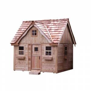 Outdoor Living Today 9 ft. x 9 ft. Laurens Cottage Playhouse