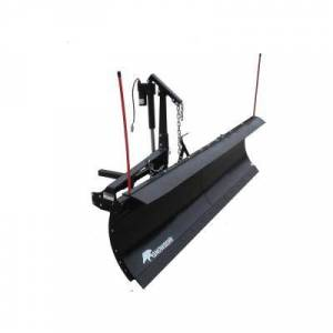 SNOWBEAR Pro Shovel 88 in. x 26 in. Snow Plow for 2 in. Front Mounted Receiver with Actuator Lift System