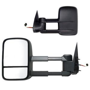 Fit System Towing Mirror for 99-02 Silverado/Sierra 00-02 Escalade/Avalanche/Suburban/Tahoe/Yukon Foldaway Pair