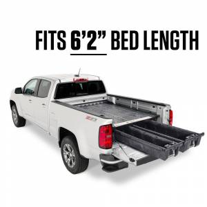DECKED 6 ft. 2 in. Pick Up Truck Storage System for GM Canyon and Chevrolet Colorado (2015-Current)