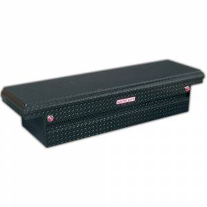 Weather Guard 71.5 in. Glossy Black Aluminum Full Size Crossbed Truck Tool Box