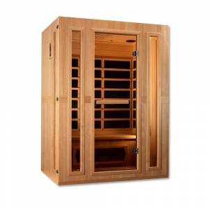 Maxxus Infracolor 3-Person Upgraded Far Infrared Sauna with 7 Dual Tech Heaters