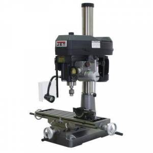 Jet JMD-18PFN 2 HP 1PH 115-Volt/230-Volt Mill Drill Press with Power Downfeed