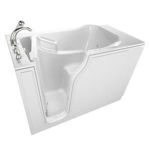 Safety Tubs Gelcoat Entry Series 52 in. Walk-In Air Bath Bathtub in White