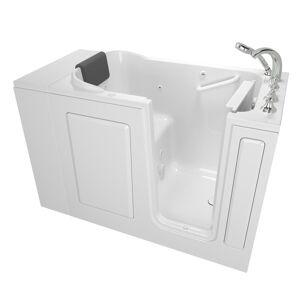 American Standard Gelcoat Premium Series 48 in. x 28 in. Right Hand Walk-In Whirlpool Bathtub in White
