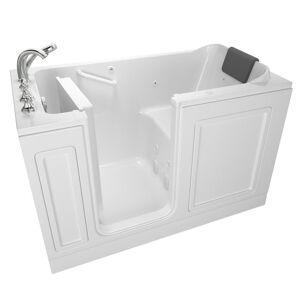 American Standard Acrylic Luxury 60 in. Left Hand Walk-In Whirlpool in White