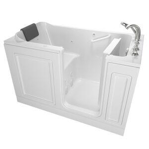 American Standard Acrylic Luxury 60 in. Right Hand Walk-In Whirlpool Bathtub in White