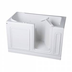 American Standard Acrylic Standard Series 60 in. x 32 in. Right Hand Walk-In Whirlpool and Air Bath Tub in White