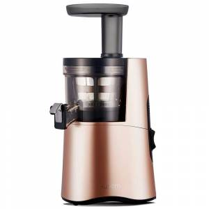 Hurom H-AA 16.9 fl. oz. Rose Gold Slow Juicer with Slow Squeeze Technology