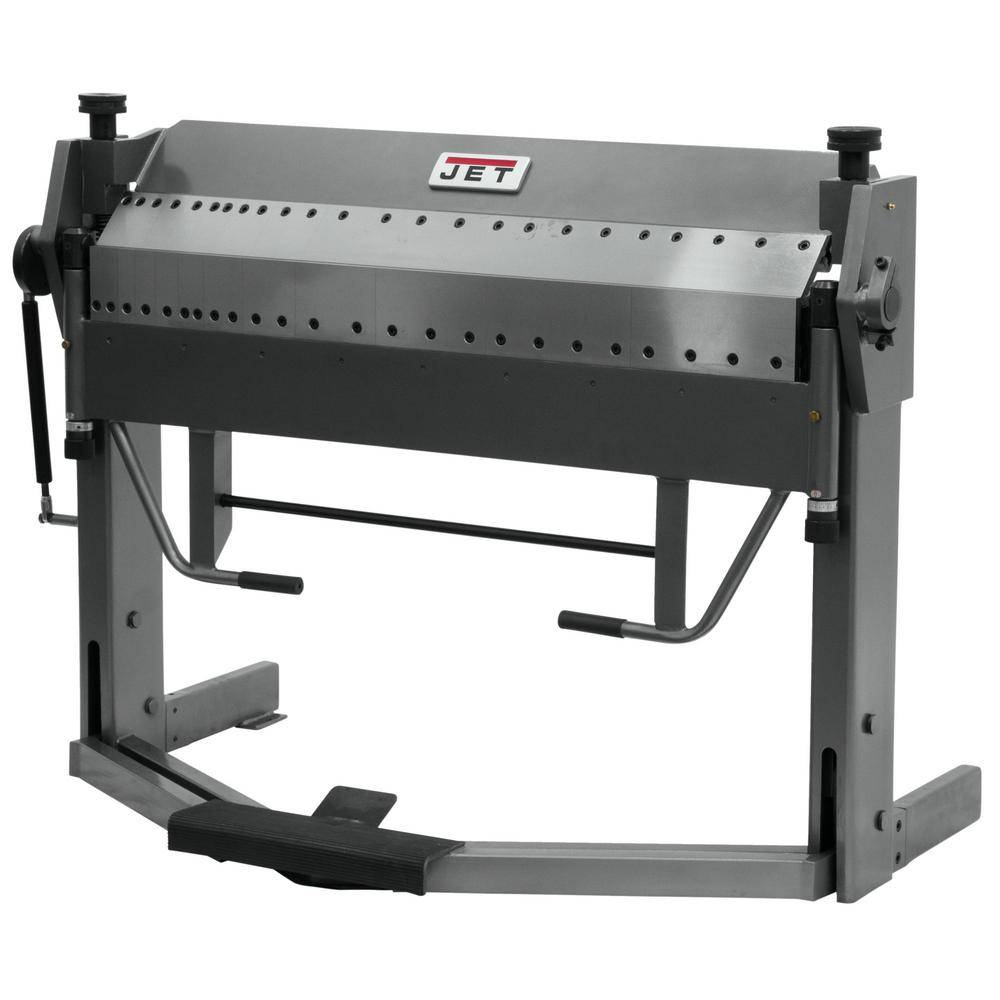 Jet PBF-1650D 16-Gauge x 50 in. Dual Sided Box and Pan with Foot Break