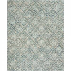 Safavieh Abstract Blue/Gray 8 ft. x 10 ft. Area Rug
