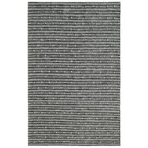 Dynamic Rugs Oak Ivory/Charcoal 8 ft. x 10 ft. Modern Cotton/Wool Area Rug