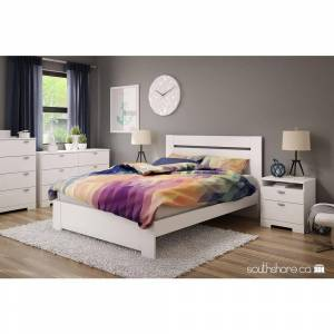 South Shore Reevo 4-Drawer Pure White Chest of Drawers