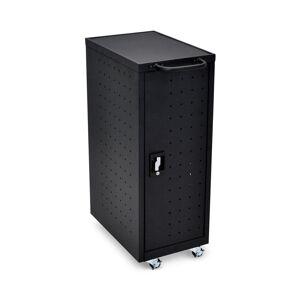 Luxor All Steel Mobile Charging locker for 12 Laptops/Chromebooks in Black