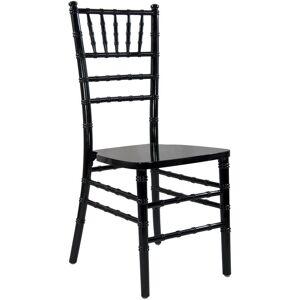 Advantage Black Wood Chiavari Chair (20-Pack)
