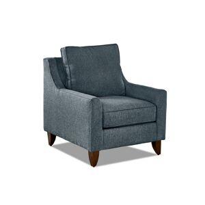 AVENUE 405 Gianni Blue Accent Chair