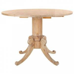 Safavieh Forest Rustic Natural Drop Leaf Dining Table