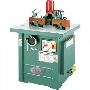 Grizzly Industrial Z Series 5 HP Professional Spindle Shaper