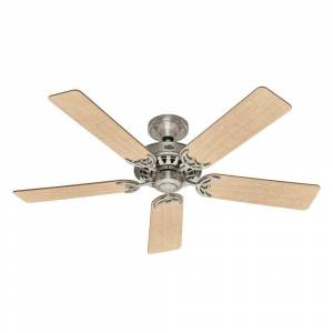 Hunter Architect 52 in. Brushed Nickel Ceiling Fan