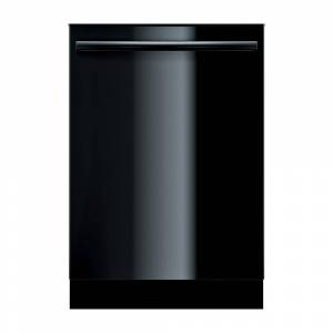 Bosch Ascenta Series Top Control Tall Tub Dishwasher in Black with Hybrid Stainless Steel Tub, 50dBA