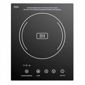 Summit Appliance 12 in. Electric Induction Cooktop in Black with 1 Element