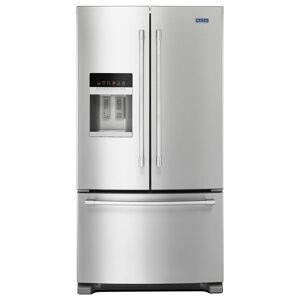 Maytag 25 cu. ft. French Door Refrigerator in Fingerprint Resistant Stainless Steel