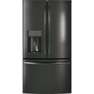 GE Profile 27.8 cu. ft. French-Door Refrirator with Door-in-Door in Black Stainless Steel , Finrprint Resistant, Fingerprint Resistant Black Stainless