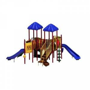 Ultra Play UPlay Today Pike's Peak (Playful) Commercial Playset with Ground Spike