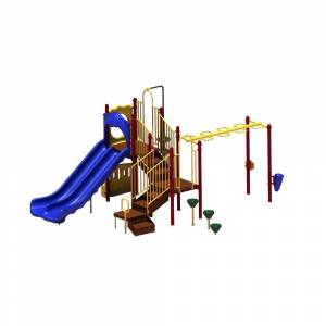 Ultra Play UPlay Today Maddie's Chase (Playful) Commercial Playset with Ground Spike