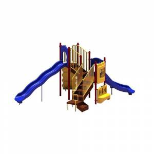 Ultra Play UPlay Today Timber Glen (Playful) Commercial Playset with Ground Spike