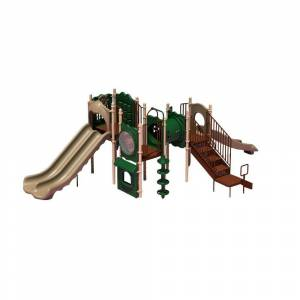 Ultra Play UPlay Today Carson's Canyon (Natural) Commercial Playset with Ground Spike