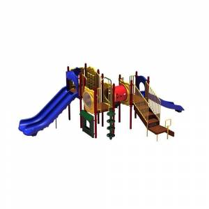 Ultra Play UPlay Today Carson's Canyon (Playful) Commercial Playset with Ground Spike