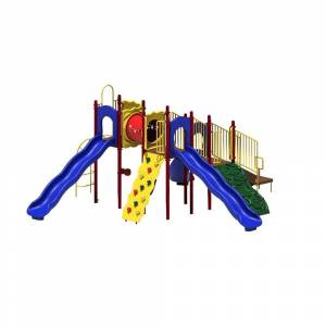 Ultra Play UPlay Today Boulder Point (Playful) Commercial Playset with Ground Spike