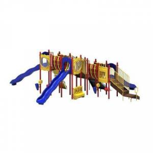 Ultra Play UPlay Today Big Sky (Playful) Commercial Playset with Ground Spike
