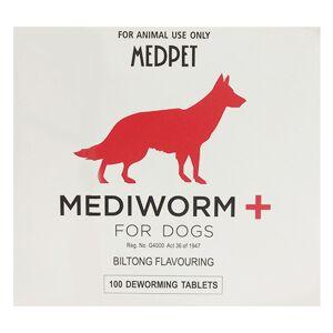 Mediworm Plus Wormer For Dogs 22 Lbs (10 Kg) 2 Tablet