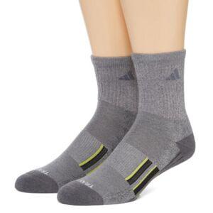 adidas 2 Pair Crew Socks-Mens